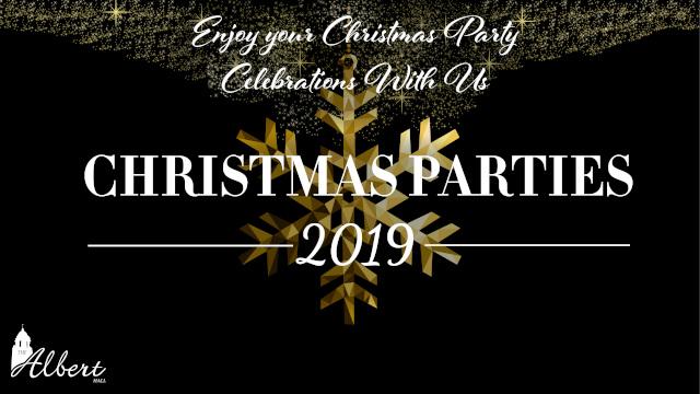 Christmas Party 2019 Logo.Traditional Festive Christmas Parties Nottingham Albert