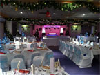 Tastefull festive decorations throughout the Venue
